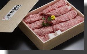 和牛すき焼き肉